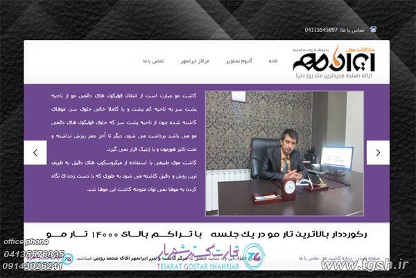 طراحی سایت در تبریز
