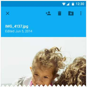 منوی راهبری جانبی سمت راست در موبایل