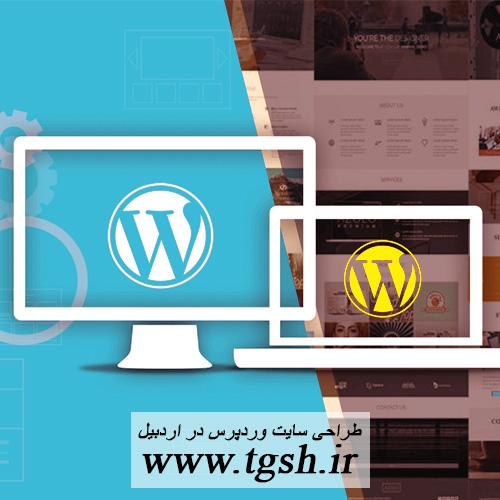 طراحی سایت وردپرس در اردبیل