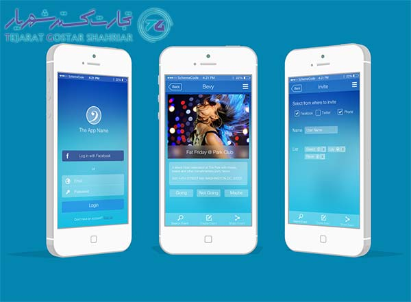 طراحی اپلکیشن Ios در تبریز