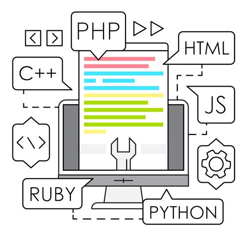 زبان برنامه نویسی طراحی سایت