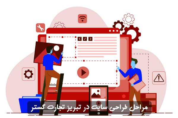 مراحل طراحی سایت در تبریز