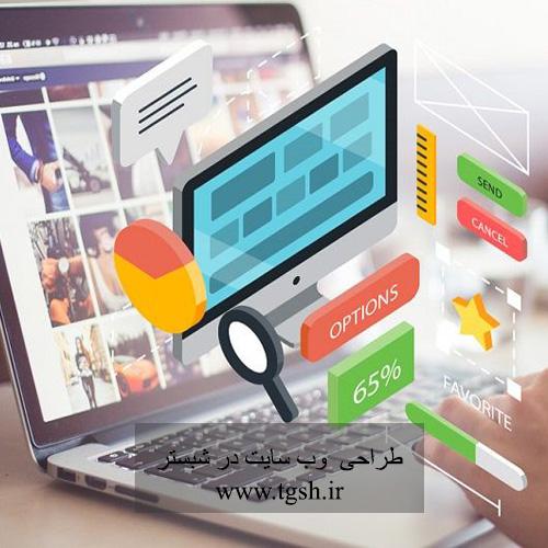 طراحی وب سایت در شبستر